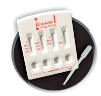 Six Panel Drug Test Cassette (CLIA Waived)