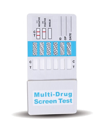 Ten Panel Drug Test Dip Card