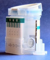 Four Panel Drug Test Key Cup (with Adulteration, CLIA Waived)