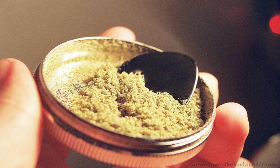 Basics of kief and its use.