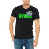 Funny Boutique T Shirt by Weed Apparel. Show the weed you need Team Hybrid. Support your team with this shirt and blaze up on a great Hybrid bong.