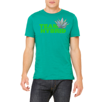 Funny Boutique T Shirt by Weed Apparel. Show the weed you need Team Hybrid. Support your team with this shirt and blaze up on a great Hybrid blunt.