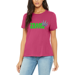 Bright Team Sativa Tee Shirt by Weed Apparel. 420 friendly gifts to your Stoner Friends!