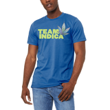 Funny Boutique T Shirt by Weed Apparel. Show off the weed you love Team Indica. Support your team with this shirt and blaze up on a great Indica blunt.