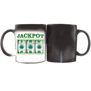 Stoner Coffee Cup - White and Magic Mug Jackpot