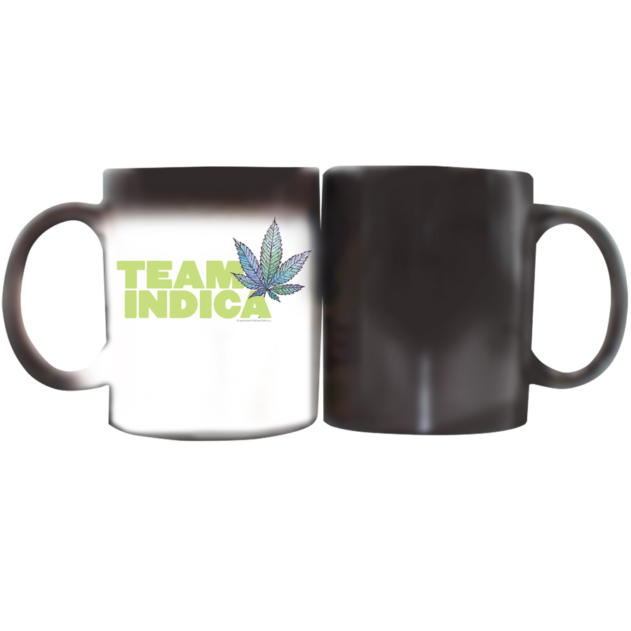 Stoner Coffee Cup - White and Magic Mug Team Indica
