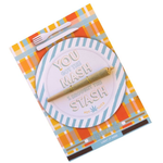 KushKards -YOU GOT THE MASH I BROUGHT THE STASH - Weed Enthusiast Greeting Card -Seasonal