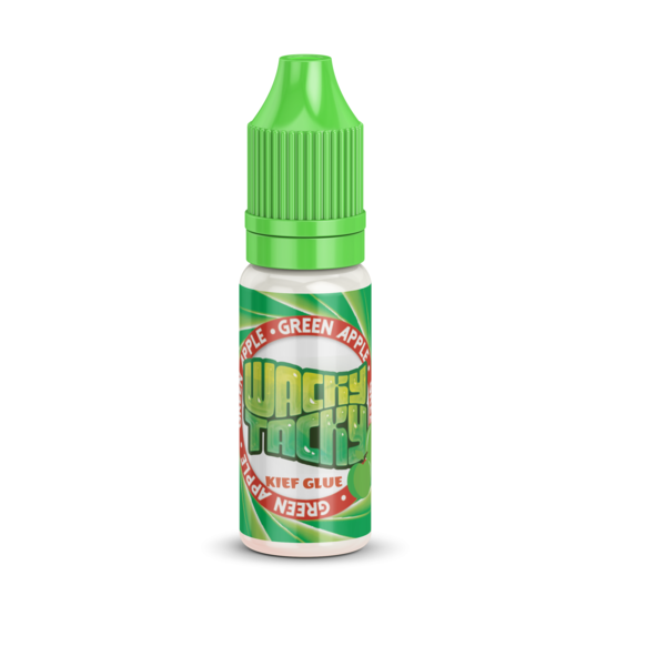 Green Apple Wacky Tacky Glue for your Cigars, Joints, Blunts and Pre rolls Kief Glue. Don't Lick It Stick It! 10ml Bottles