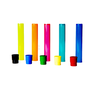 Doob Tube Water Resistant Perfect for Cigarette Joint Blunt Cone Pre roll Tubes (Mixed Colored) Keep your products lasting longer and staying fresh.