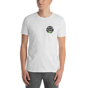 Funny 420 Friendly small graphic design T Shirt by Weed Apparel. Wacky Tacky logo