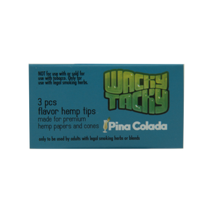 Wacky Tacky Flavored Filters - Pina Colada. 2 Flavor crush balls.