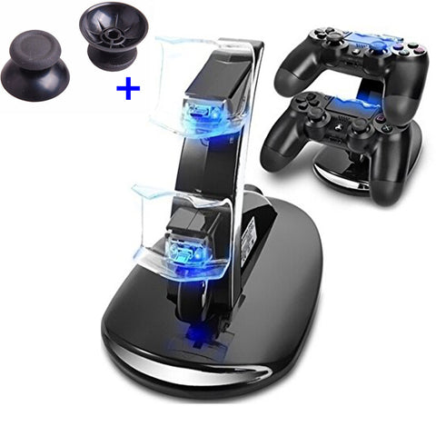 sony playstation 4 controller. dual usb charging station stand for sony playstation 4 controller and ps4 pro playstation t