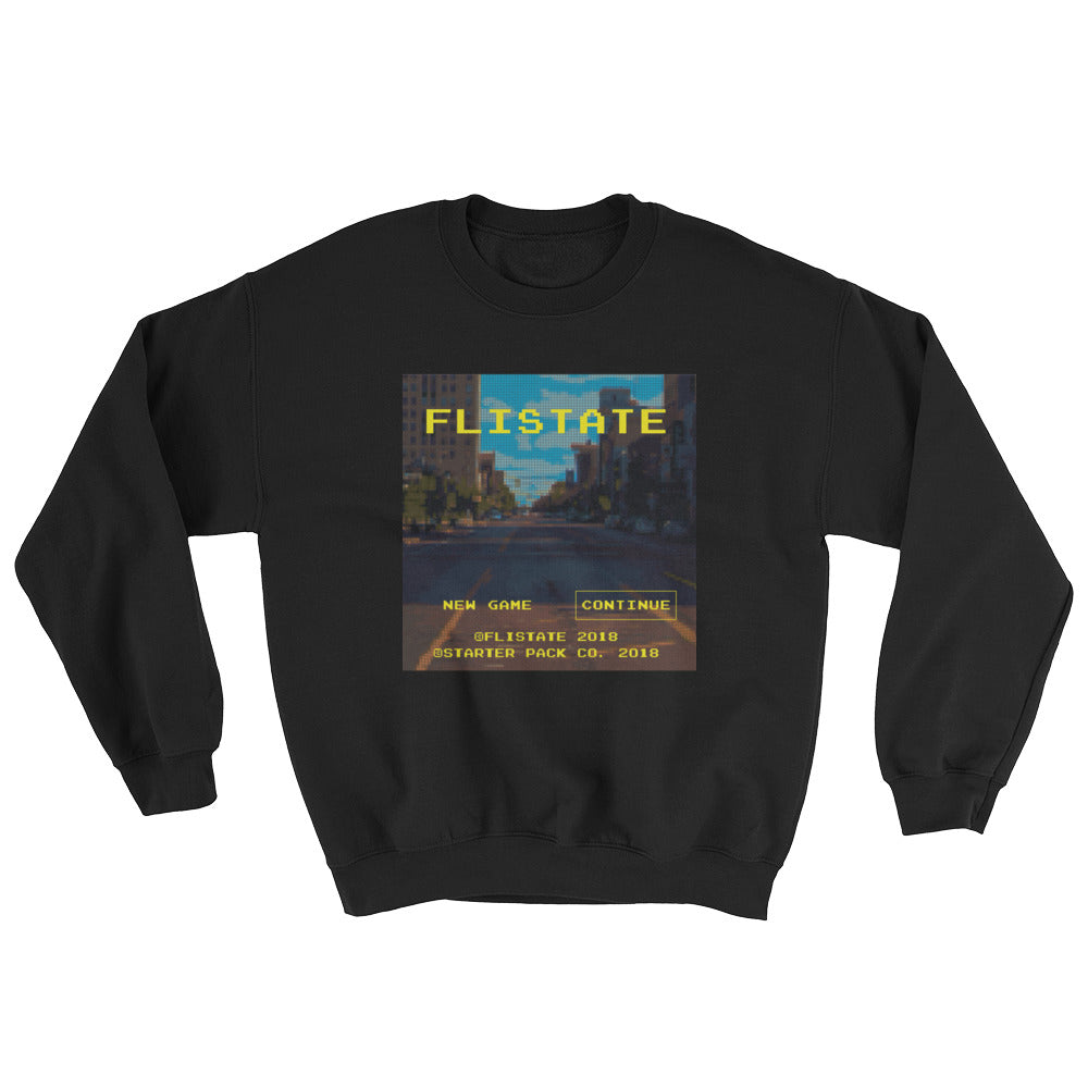 Flistate Video Game Sweatshirt