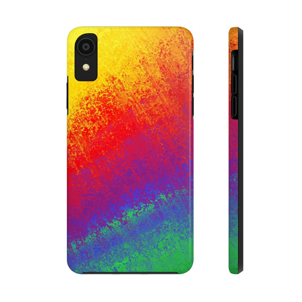 Rainbow Paint - iPhone - CASE MATE (Tough Case) - Superior Digital Outlet Mall