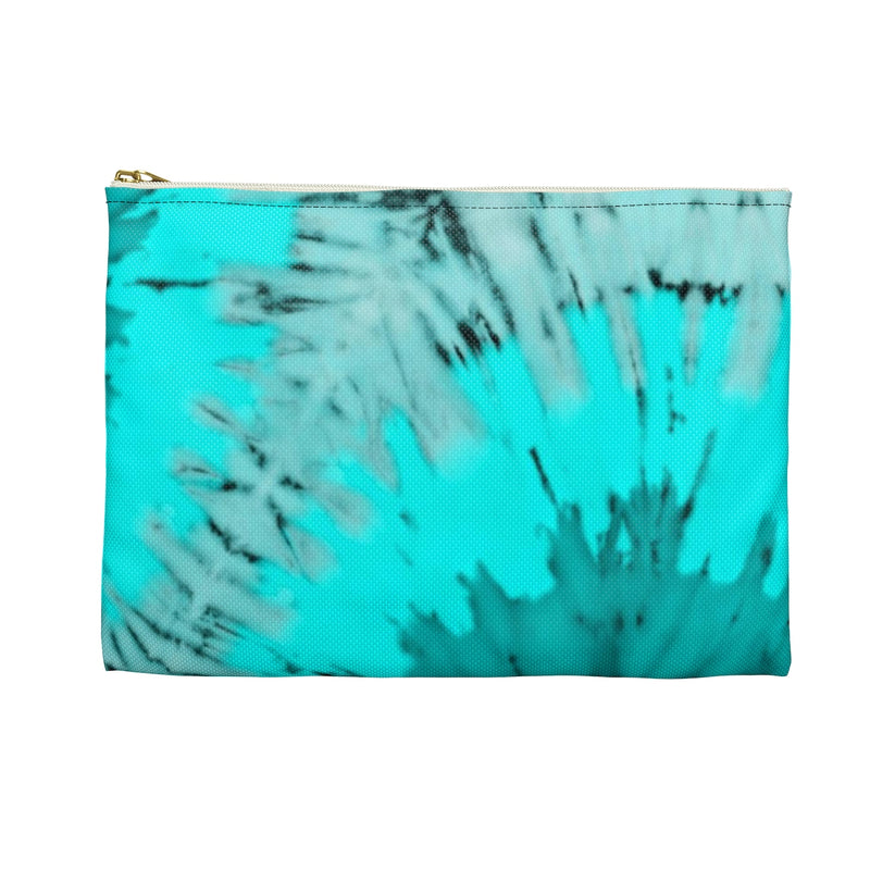 Blue Coral Tie Dye - Accessory Pouch - JaCiana Clothing Co. - Superior Digital Outlet Mall