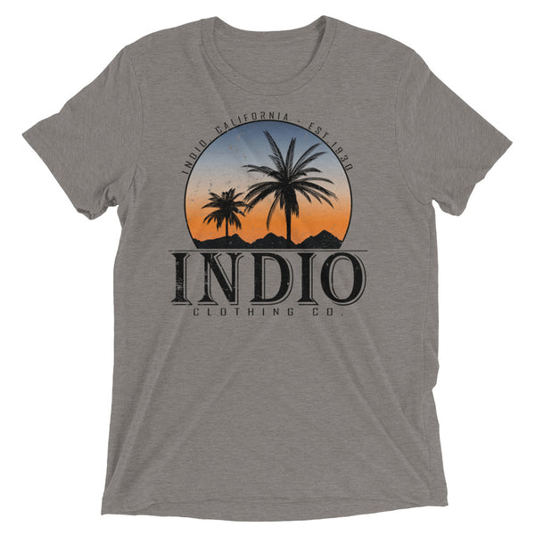 Sunset City - Tri-Blend T-Shirt - Superior Digital Outlet Mall