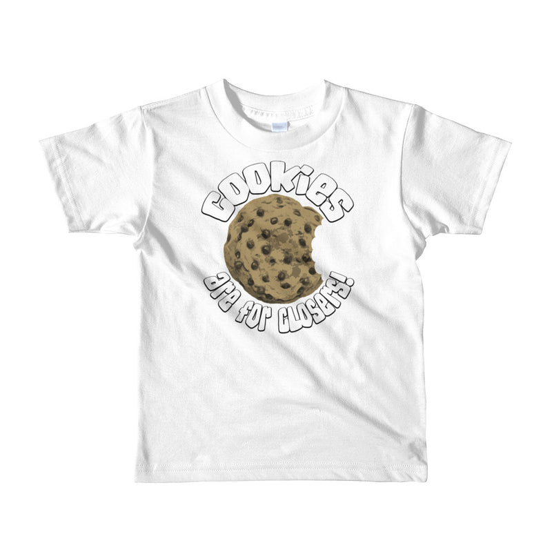 Cookies Are For Closers Kids Jersey T-Shirts - 10 Colors for Boys & Girls - Superior Digital Outlet Mall