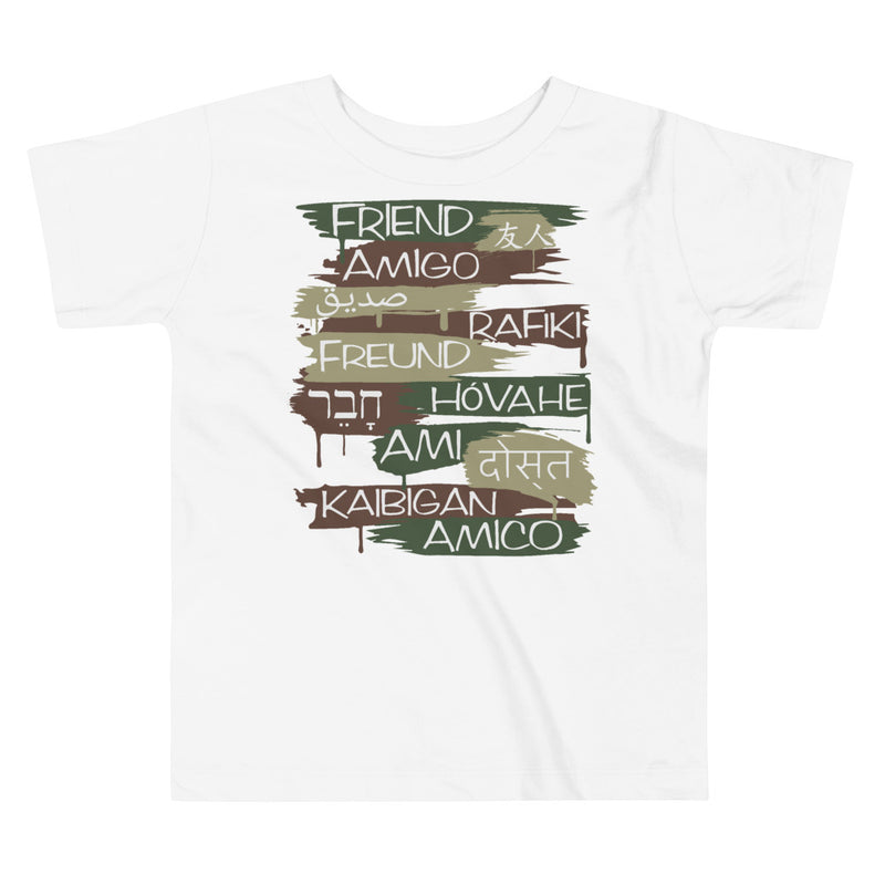 Friends From Other Ends - Toddler T-Shirt