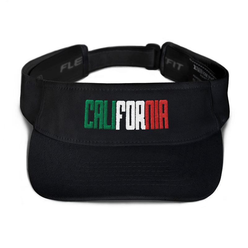 "Indio ""CALIFORNIA"" (Red, White, & Green) Visor"