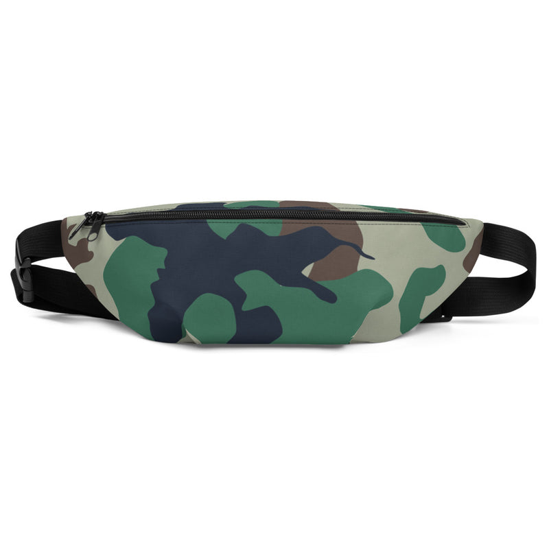 Woodland Camouflage  - Fanny Pack / Shoulder Bag - Indio Clothing Co. - Superior Digital Outlet Mall