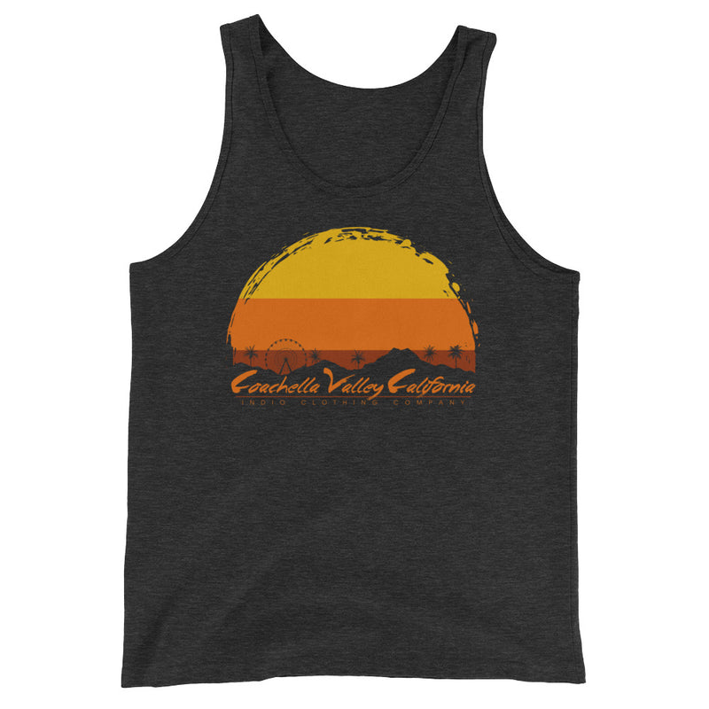 Coachella Valley, CA - Unisex  Tank Top - Superior Digital Outlet Mall