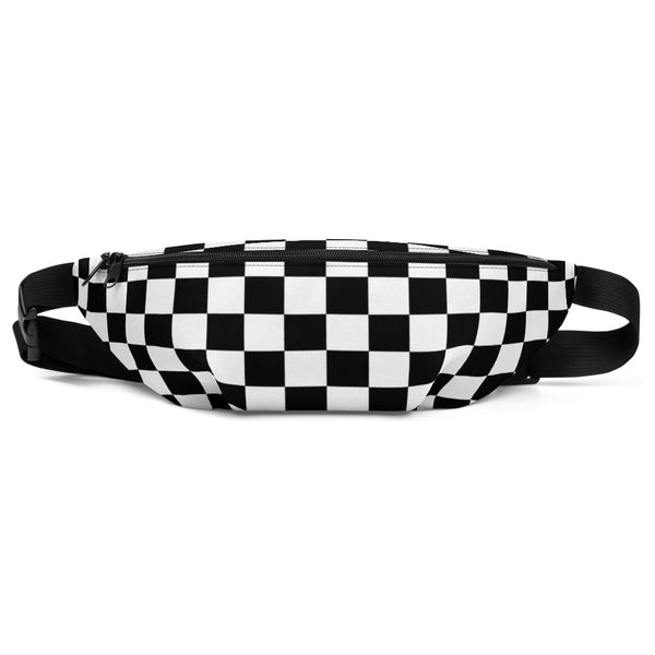 Checkerboard - Fanny Pack / Shoulder Bag - JaCiana Clothing Co. - Superior Digital Outlet Mall