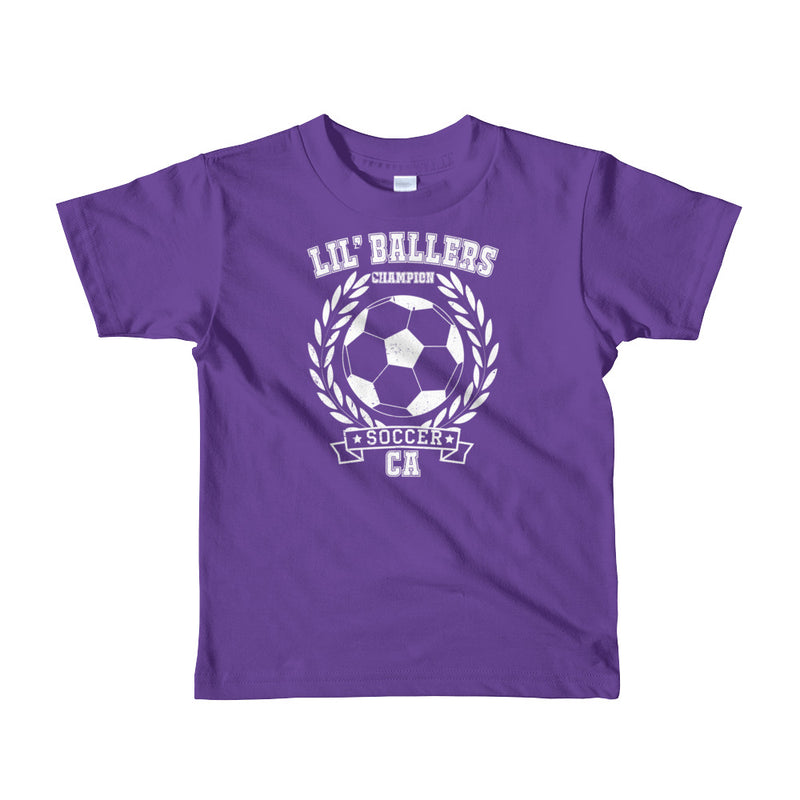 Lil' Ballers Champion Soccer Kids T-Shirt - Superior Digital Outlet Mall