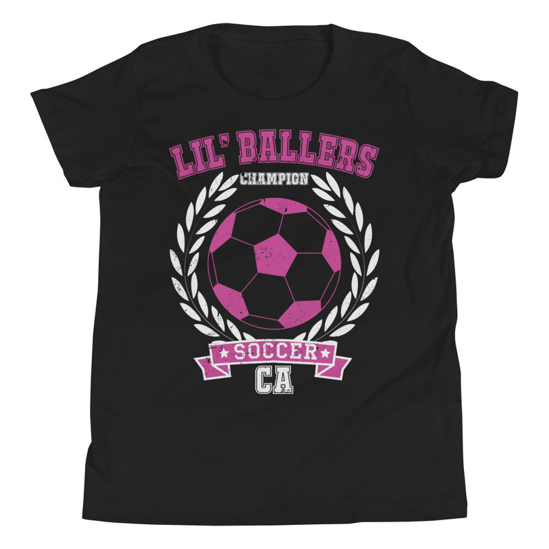 Lil' Ballers Champion Soccer Youth T-Shirt - Superior Digital Outlet Mall