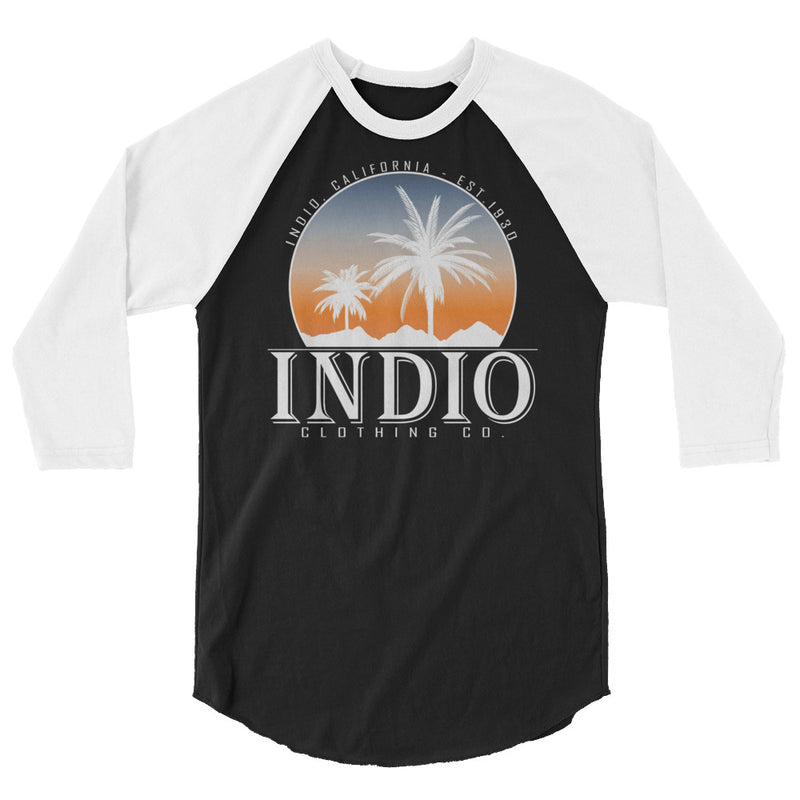 Sunset City Raglan Baseball T