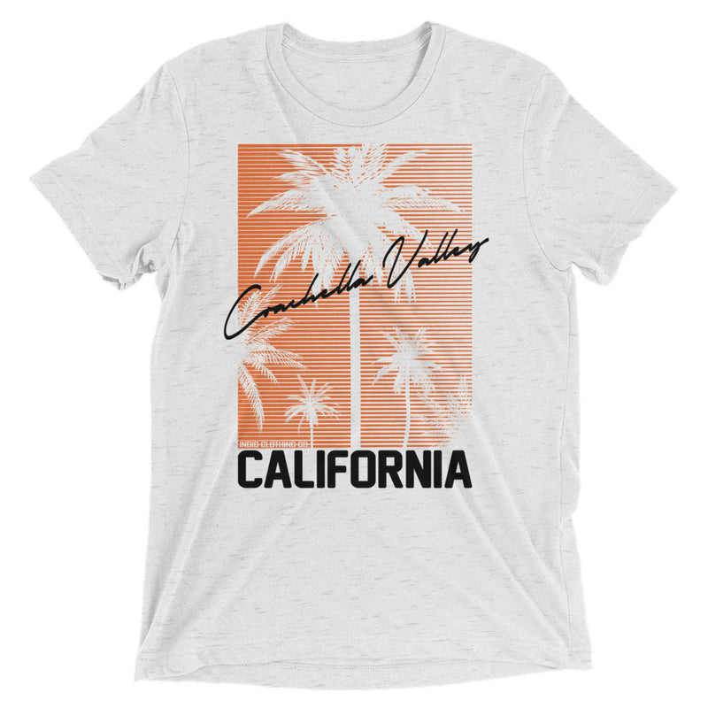 Coachella Valley - Tri-Blend T-Shirt - Orange - Superior Digital Outlet Mall