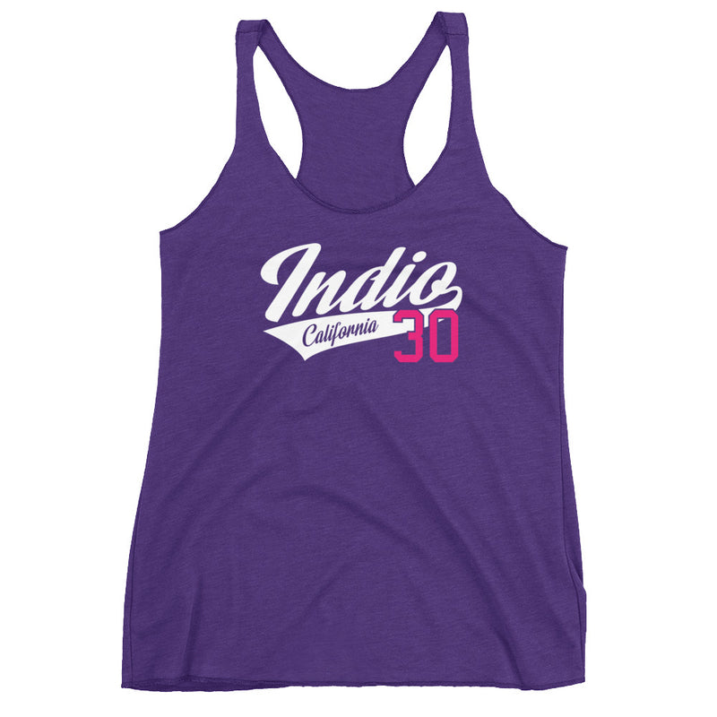 INDIO Womens Tri-Blend Racerback Tank - Superior Digital Outlet Mall