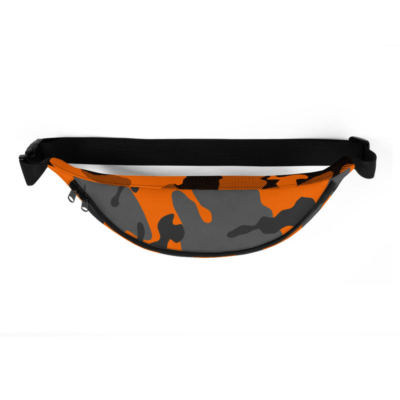 Orange Safety Camouflage  - Fanny Pack / Shoulder Bag - Indio Clothing Co. - Superior Digital Outlet Mall