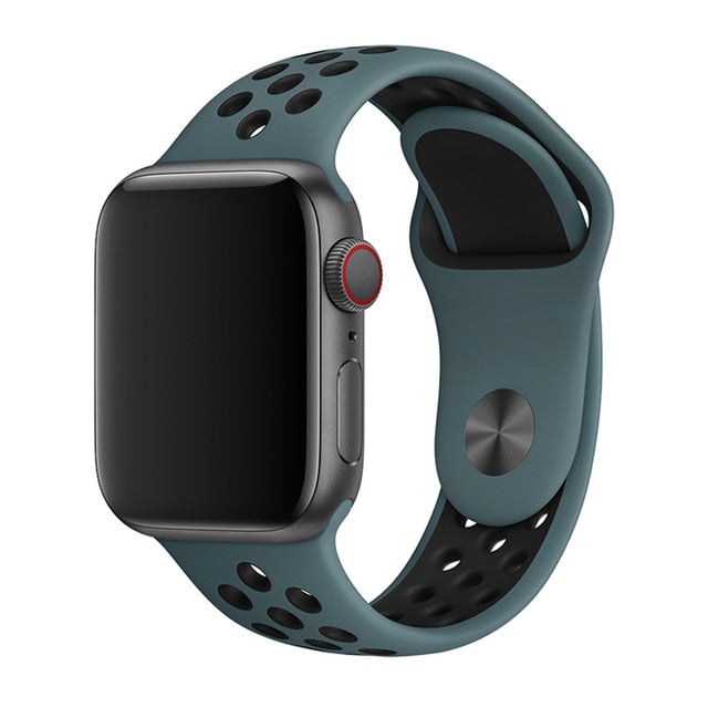 Premium Silicone Sport Loop for Apple Watch
