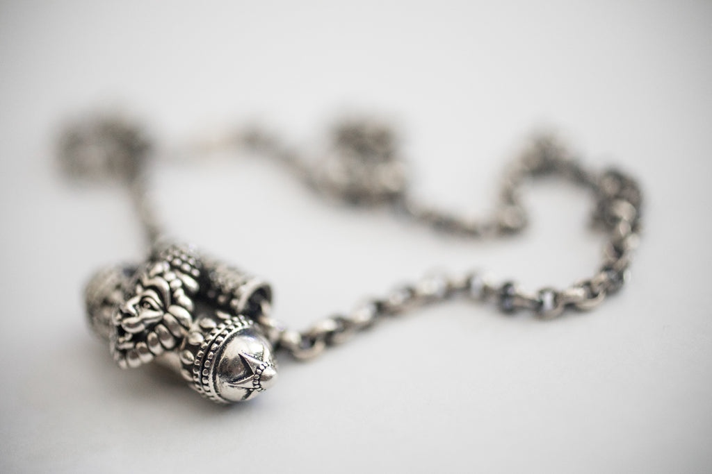 LION - Kavacha Amulet - Sterling Silver