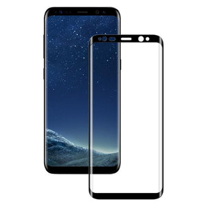 The 3D Curved Tempered Glass Screen Protector for Galaxy S8 or S8 Plus