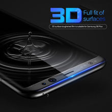 3D Curved Tempered Glass Screen Protector For Galaxy S8 or S8 PLUS