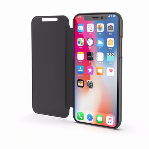 TOUCH FLIP STAND CASE FOR IPHONE X or Xr or Xs or Xs max