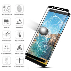 3D Curved Tempered Glass Screen Protector for Galaxy Phones