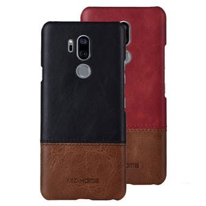 Genuine Stitched Leather Case for LG Phones