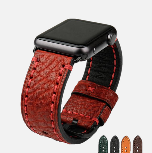 Aviator Genuine Leather Apple Watch Band