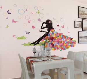 Sweet Girl Wall Sticker