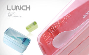 Slim Portable Lunch Box