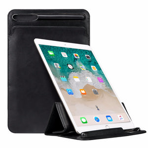 "Leather Sleeve Stand Case for 12.9"" iPad Pro"