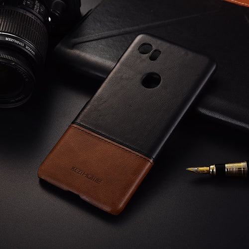 Genuine Stitched Leather Case for Google Phones