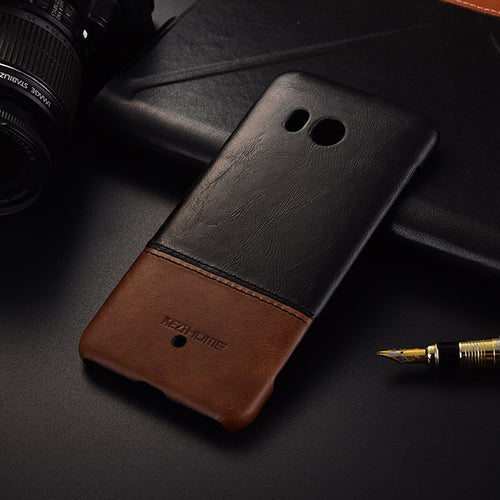 Genuine Stitched Leather Case for HTC Phones