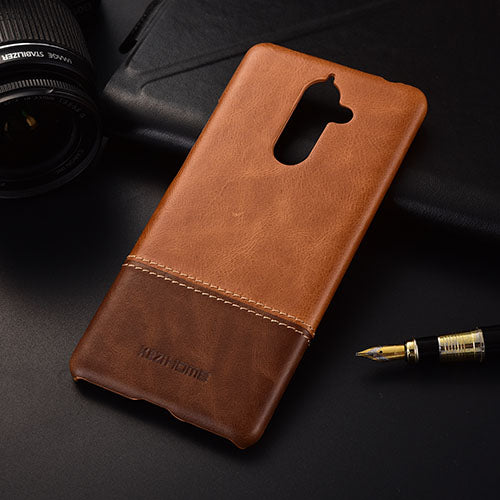 Genuine Stitched Leather Case for Nokia Phones