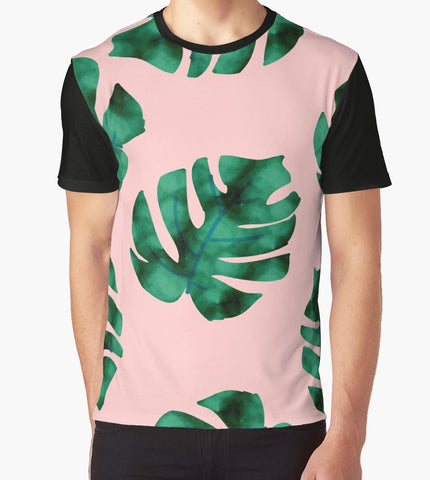 Tropical Fern Leaves T-Shirt