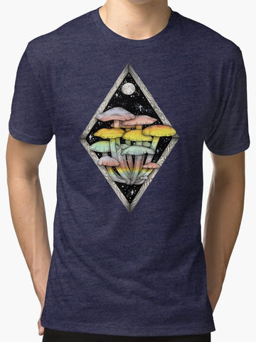 Rainbow Mushrooms T-Shirt