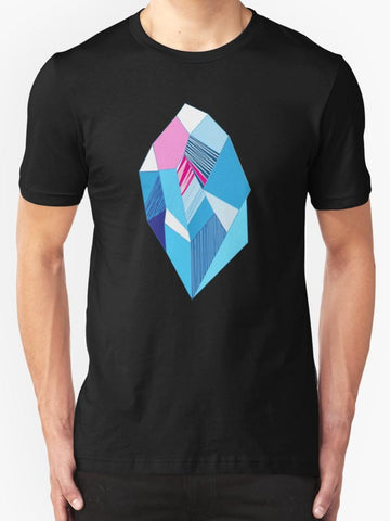 Bright Pattern Crystals T-Shirt
