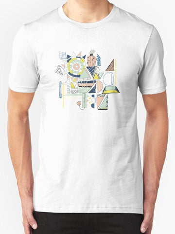 Modern Cactus Pop Art T-Shirt